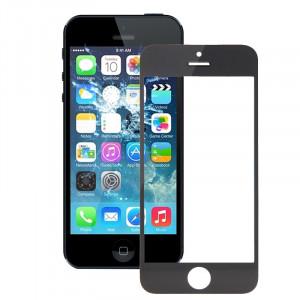 iPartsBuy pour iPhone 5S lentille de verre extérieur de l'écran avant (noir) SI027B347-20