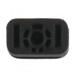 iPartsBuy 10 PCS pour iPhone 5S joint de microphone d'origine (noir) SI0030615-20