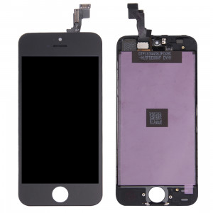iPartsAcheter 3 en 1 pour iPhone 5S (LCD + Frame + Touch Pad) Assemblage Digitizer (Noir) SI048B314-20