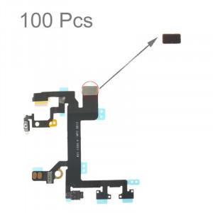 100 PCS mousse mousse éponge pour câble de câble de bouton d'alimentation de l'iPhone 5S S101111175-20