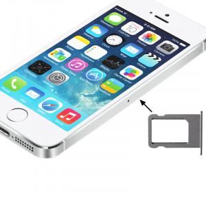 iPartsAcheter pour iPhone 5S Titulaire de la carte Sim Original (Argent) SI700S1909-20