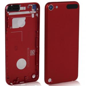 Couverture arrière en métal / panneau arrière pour iPod touch 5 (rouge) SC706L9-20