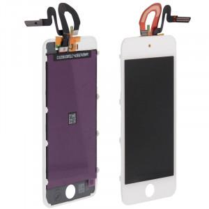 3 en 1 pour iPod Touch 5 (Original LCD + Cadre Original + Touch Pad Original) (Blanc) S307371623-20