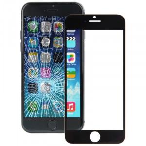 iPartsBuy pour iPhone 6 lentille de verre extérieure de l'écran avant (noir) SI063B1238-20