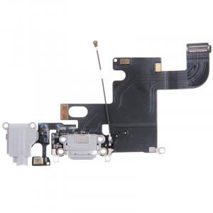 iPartsBuy Remplacement Port Dock Connecteur Flex câble de remplacement pour iPhone 6 (Gris) SI0070994-20