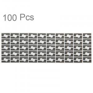 100 PCS pour iPhone 6 Audio Power Fer Tapis de coton de bâton S14615610-20