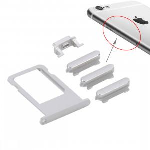 iPartsBuy remplacement de la carte pour iPhone 6s Plus (Argent) SI003S634-20