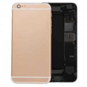 iPartsBuy batterie couvercle arrière avec bac à cartes pour iPhone 6s Plus (Gold) SI426J808-20
