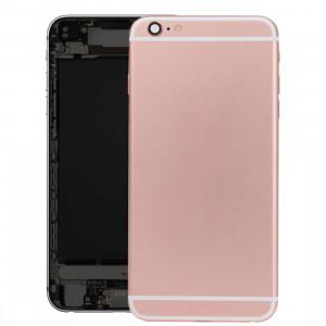 iPartsBuy batterie couvercle arrière avec bac à cartes pour iPhone 6s Plus (or rose) SI26RG1677-20