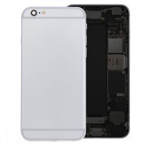 iPartsBuy batterie couvercle arrière avec bac à cartes pour iPhone 6s Plus (Argent) SI426S1406-20