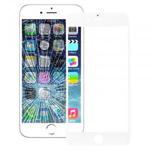 iPartsAcheter pour iPhone 6s & 6 lentille extérieure en verre d'écran avant (blanc) SI55781925-20