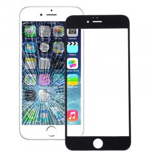 iPartsBuy pour iPhone 6s & 6 lentille extérieure en verre d'écran avant (noir) SI578B705-20