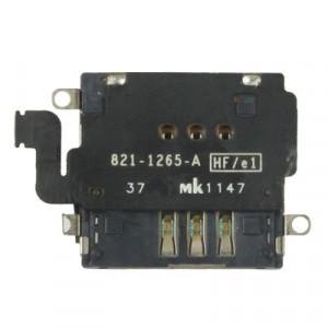 iPartsBuy Slot pour carte SIM d'origine pour nouvel iPad 4G (iPad 3 4G) (Noir) SI0712167-20