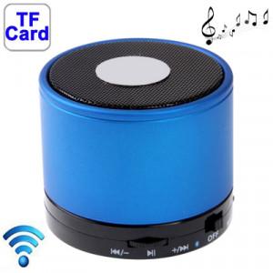 Bluetooth 2.1 Mini haut-parleur stéréo pour iPhone 5 / iPhone 4 & 4S / iPad 4 / Nouvel iPad / mini iPad / mini 2 Retina, batterie rechargeable intégrée, carte de support TF (bleu) SH41BE1894-20