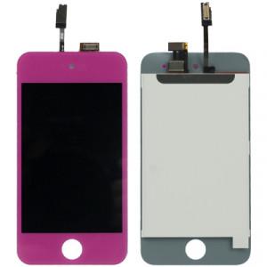 Écran LCD + Écran tactile numériseur pour iPod Touch 4 (Violet) SH722P183-20