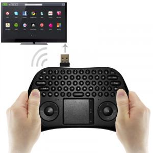 MEASY GP800 Clavier sans fil Smart Remote Air Mouse pour TV BOX / Ordinateur portable / Tablet PC / Mini PC (Noir) SM0022952-20