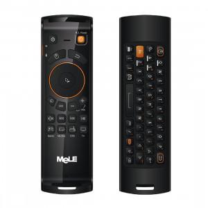 Mele F10 Deluxe 2.4 GHz Fly Air Souris Sans Fil QWERTY Clavier Télécommande avec Fonction D'apprentissage IR pour Android TV Box / Notebook / PC MAC SM00641836-20