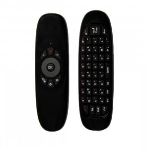 C120 T10 Vol Air Souris 2.4GHz Rechargeable Clavier Sans Fil Télécommande pour Android TV Box / PC SC00701333-20
