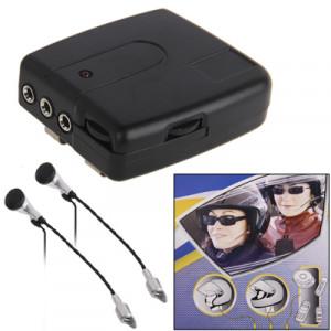 Interphone filaire multi-usage 2 PCS (noir) SI-1361358-20
