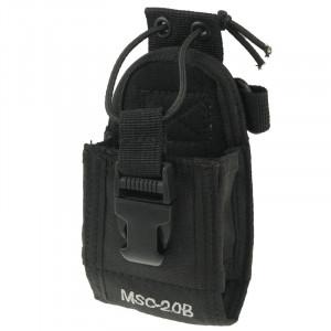 MSC20B étui de transport universel en nylon avec courroie pour talkie-walkie SM25881556-20