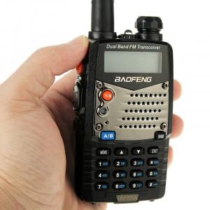 BAOFENG UV-5RA Professionnel Émetteur-récepteur Double Bande FM Radio Talkie Walkie Talkie Walkie (Noir) SB590B421-20
