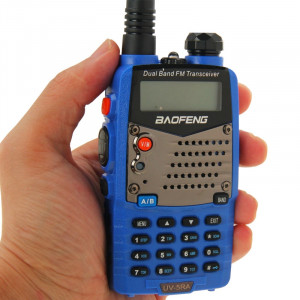 BAOFENG UV-5RA Professionnel Émetteur-récepteur À Deux Bandes FM Transmetteur Talkie Walkie Radio Deux Voies (Bleu) SB590L1681-20