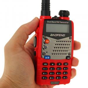 BAOFENG UV-5RA Professionnel Émetteur-récepteur À Deux Bandes FM Transmetteur Talkie Walkie Radio Deux Voies (Rouge) SB590R771-20