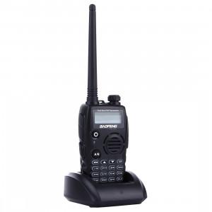 BAOFENG A52 Professionnel Émetteur-récepteur À Deux Bandes Radio Talkie Walkie FM Transmetteur (Noir) SB640B1781-20