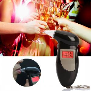 Alcootest numérique testeur d'alcoolémie (noir) SH01131526-20