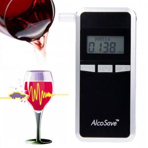 Analyseur d'haleine testeur d'alcool numérique 4 affichage à cristaux liquides (noir) SH0122487-20