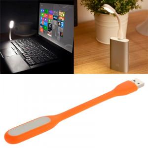 Portable Mini USB 6 LED Lumière de protection des yeux flexible pour PC / ordinateurs portables / Power Bank (Orange) SH068E1362-20