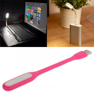 Portable Mini USB 6 LED Lumière de protection des yeux flexible pour PC / ordinateurs portables / Power Bank (rose) SH068F1653-20