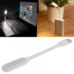 Portable Mini USB 6 LED Lumière de protection des yeux flexible pour PC / ordinateurs portables / Power Bank (Blanc) SH068W490-20