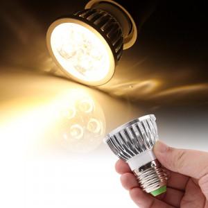 E27 4W 440LM ampoule de lampe de projecteur, 4 LED, lumière blanche chaude, 3000K, AC 85-265V SH13WW1561-20
