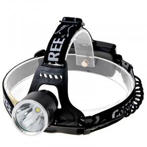 KX-G30 Lampe frontale légère 650lm, LED Cree XM-L T6, 3 modes, lumière blanche froide (noir) SH026230-20