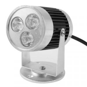 Ampoule de lampe de projecteur de 3W LED, 3 LED, lumière blanche chaude, AC 85V-265V SH27WW1965-20