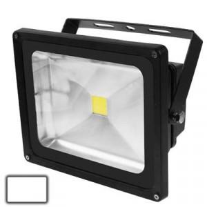 Lampe de projecteur LED haute puissance 50W, Lumière blanche, AC 85-265V, Flux lumineux: 4000-4500lm (Noir) SH639W1502-20