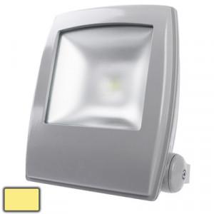 50W Lampe LED Floodlight imperméable à l'eau, lumière de couverture givrée blanc chaud, AC 85-265V, Flux lumineux: 6000lm (Noir) SH44WW475-20