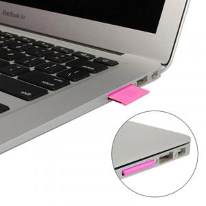 MiniDrive Micro SD / TF Convertisseur Adaptateur SD Convertir pour MacBook Air / Pro, Support TF Card jusqu'à 64Go (Magenta) SH200M1657-20