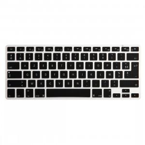 ENKAY Housse de protection pour clavier pour MacBook Pro 13,3 pouces et Air 13,3 pouces et Pro 15,4 pouces, Version US et version EU, Français SE550C1086-20