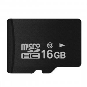 Carte mémoire micro SD (TF) classe 10 à haut débit de Taïwan, écriture: 8 Mo / s, lecture: 12 Mo / s (capacité réelle 100%) SH33HK1355-20