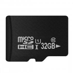 Carte mémoire micro SD (TF) classe 10 à haut débit de Taïwan, écriture: 8 Mo / s, lecture: 12 Mo / s (capacité réelle 100%) SH34HK1575-20