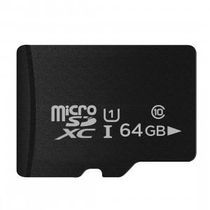 Carte mémoire micro SD (TF) classe 10 à haut débit de Taïwan, écriture: 8 Mo / s, lecture: 12 Mo / s (capacité réelle 100%) SH35HK403-20