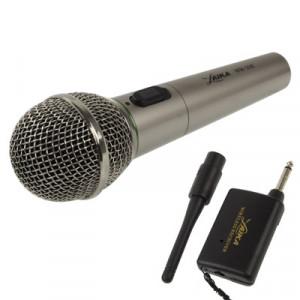 Microphone sans fil / filaire avec récepteur et antenne, Distance effective: 8-20m SH03131-20