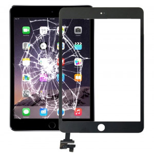 Touch Panel + IC Chip pour iPad mini 3 (Noir) ST230B416-20