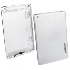 iPartsBuy Version Originale WLAN + Celluar Version Couverture Arrière de Rechange / Panneau Arrière pour iPad mini (Sliver) SI719L632-20