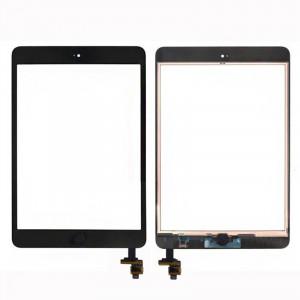 Écran tactile en verre de numériseur + Puce IC + Assemblage de contrôle Flex pour iPad mini et iPad mini 2 (Noir) SH07341169-20