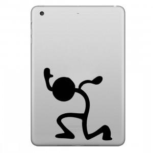 ENKAY Hat-Prince Portez l'autocollant de peau décorative amovible pour Apple mini / 2/3/4 SE100B1010-20