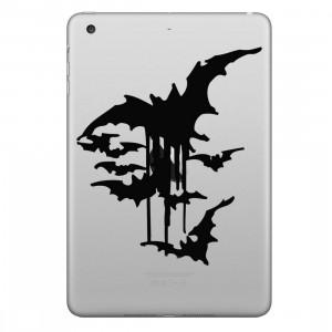 ENKAY Chapeau-Prince Bats Motif Amovible Peau Décorative Autocollant pour iPad mini / 2/3/4 SE100C1612-20