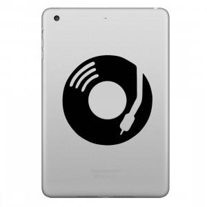 ENKAY Hat-Prince Record Motif décoratif amovible peau autocollant pour iPad mini / 2/3/4 SE100E619-20
